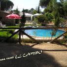Holiday cottage with whirlpool shower in Albacete