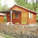 Caba&ntilde;a - Bungalow en Albacete: Camping-Caba&ntilde;as Sierra Pe&ntilde;ascosa