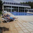 Cabaña - Bungalow con piscina en Castilla La Mancha