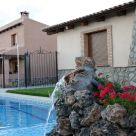 Holiday cottage with garden furniture in Albacete