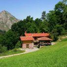 Casa rural con granja animales en Asturias
