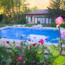 Casa rural con piscina en Guadalajara