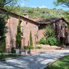 Casa rural aislada en campo en Guadalajara