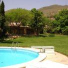 Casa rural con piscina en Málaga
