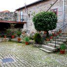Casa rural con chimenea en Galicia