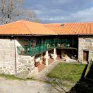 Casa rural con comedor en Ourense