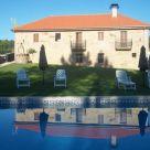 Casa rural con barbacoa en Ourense