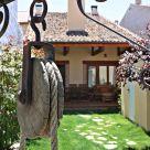 Casa rural con chimenea en Segovia